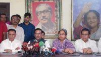 বিনা উস্কানিতে বিএনপি'র কর্মীরা পুলিশের উপর হামলা করেছে : ওবায়দুল কাদের