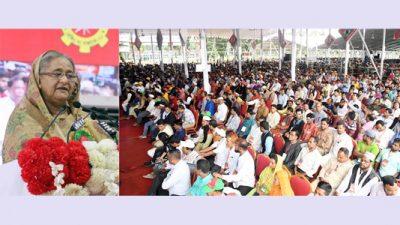 ঘূর্ণিঝড় 'বুলবুল' মোকাবেলায় সর্বাত্মক প্রস্তুতি নিয়েছে সরকার : প্রধানমন্ত্রী